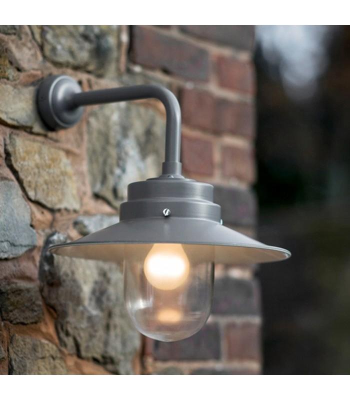 Belfast Light in Charcoal Grey Steel