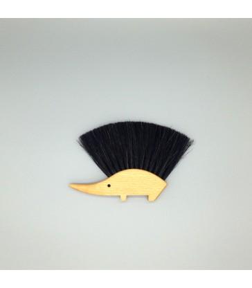 table brush cute hedgehog design