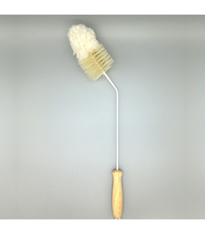 Decanter Brush with eco friendly natural bristles