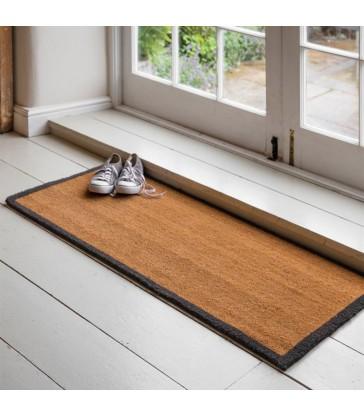 Double doormat made from Coir