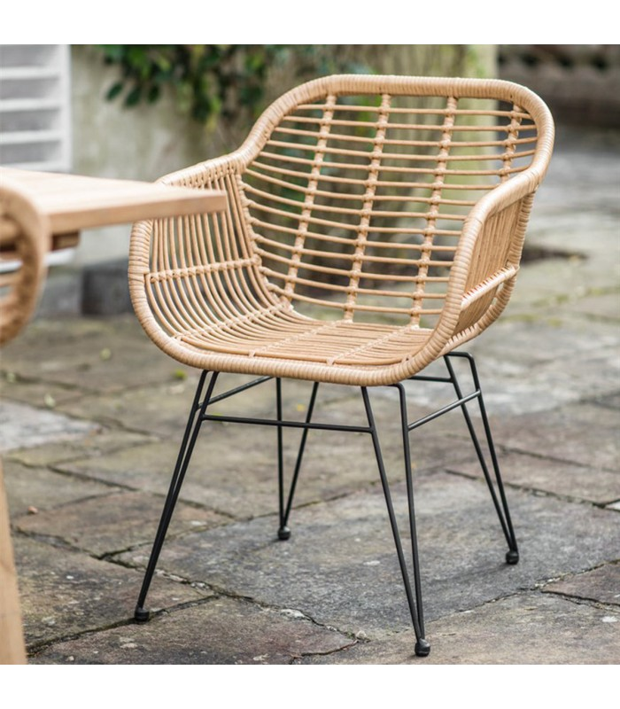 All weather Bamboo Chair outdoor garden seating