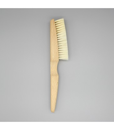 silver cleaning brush