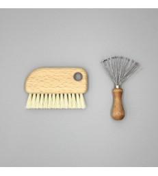 Hairbrush Cleaning Set