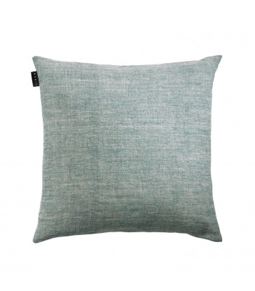 Aqua Blue green Linen Cushion