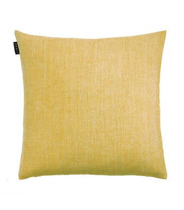 Mustard Yellow Linen Cushion