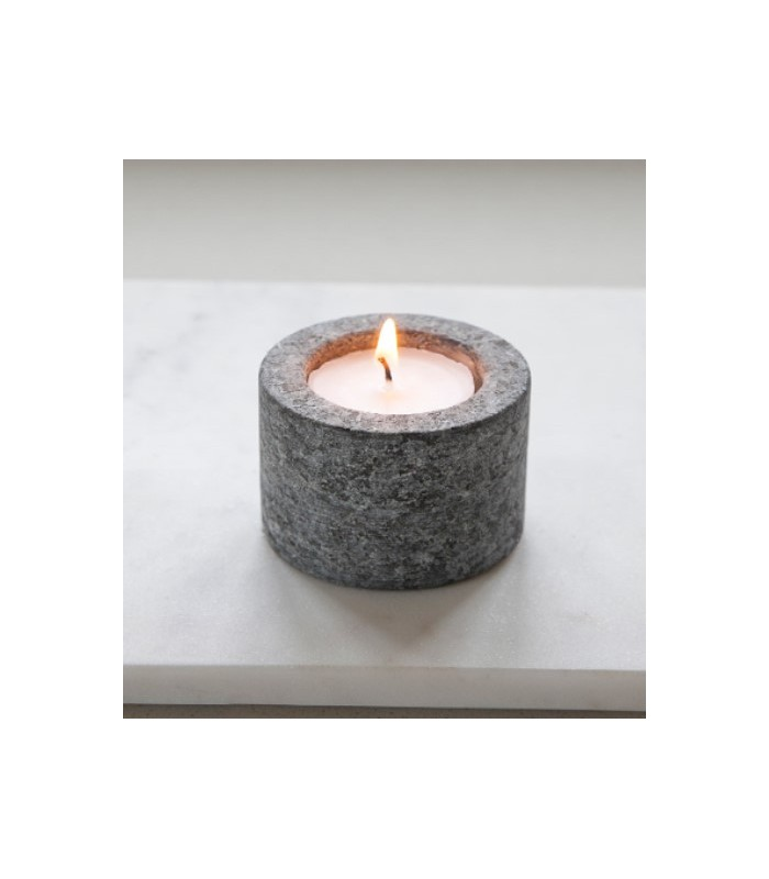 granite tealight holder raw granite natural material candle holder