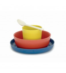 Childrens Bamboo Dinnerware Set - 4 designs