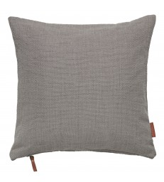 Cotton Hand Loomed Cushion - Mud