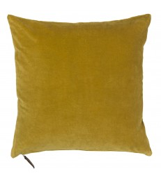 Soft Velvet Cushion - Curry