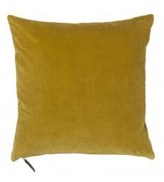 Soft Velvet Cushion - Curry