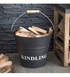 Kindling Bucket - Carbon