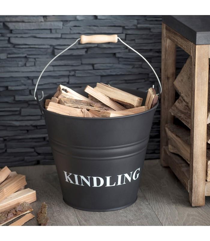 Kindling Bucket - Carbon