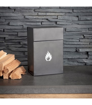 Firelighter Box in Carbon
