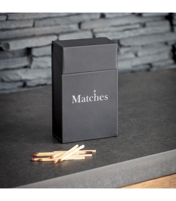 Matchbox Holder - Carbon colour