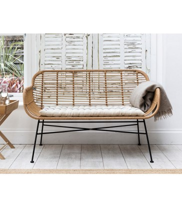 Outdoor Bamboo Bench