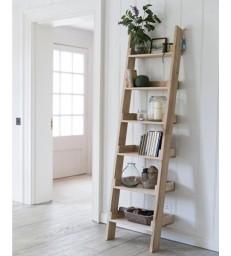 Oak Shelf Ladder - Narrow