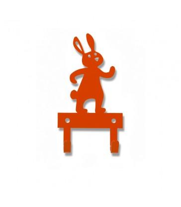 Orange Rabbit Wall Hanger