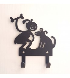 Girl and Dog Wall Hanger