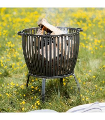 Fire Pit Basket Sml