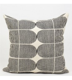 Black and White Tile Cushion