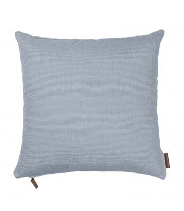 Dusty Blue Cotton Hand Loomed Cushion