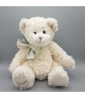 White Teddy Bear Traditional super soft toys for children