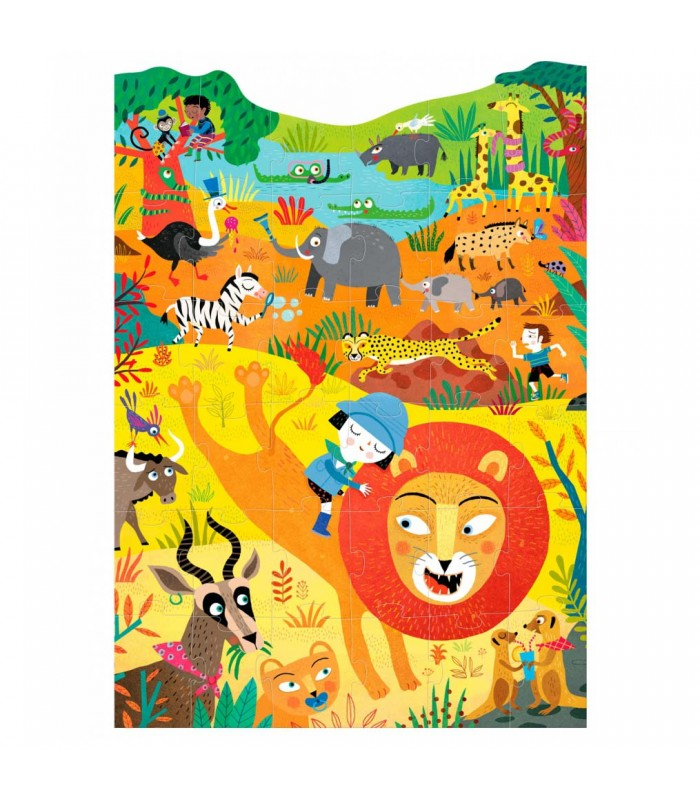 roar lions and wild animals jigsaw puzzle