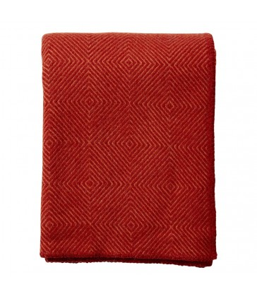 NOVA Rust Wool Throw