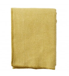 NOVA Yellow  Wool Throw