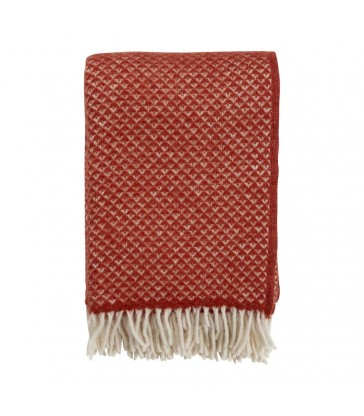 LUXOR Terracotta Wool Throw