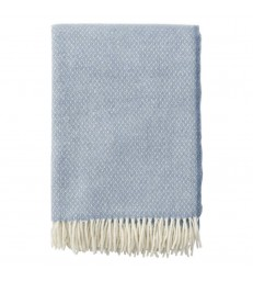 FLOW Blue Merino and Lambs Wool Throw