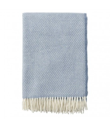 Bluestone flow wool throw with merino and wool
