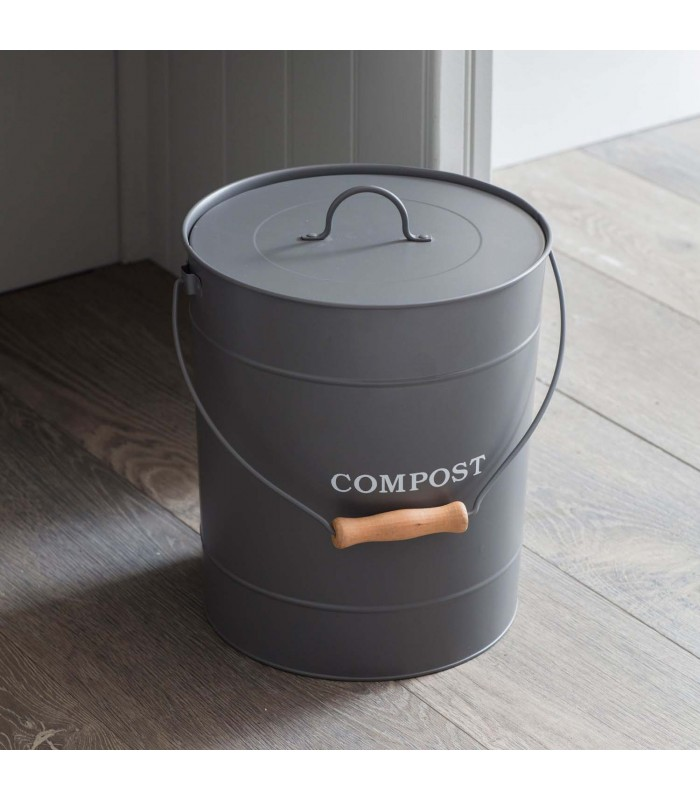 large 10 litre compost bin for your home kitchen
