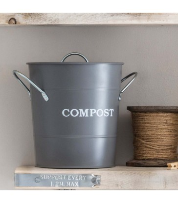 small 3.5 litre compost bin for small kitchens