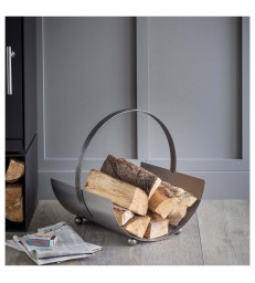Modern Steel Log Carrier - Round