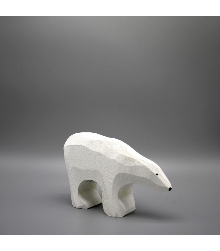 large carved polar bear christmas decorations from the blue door