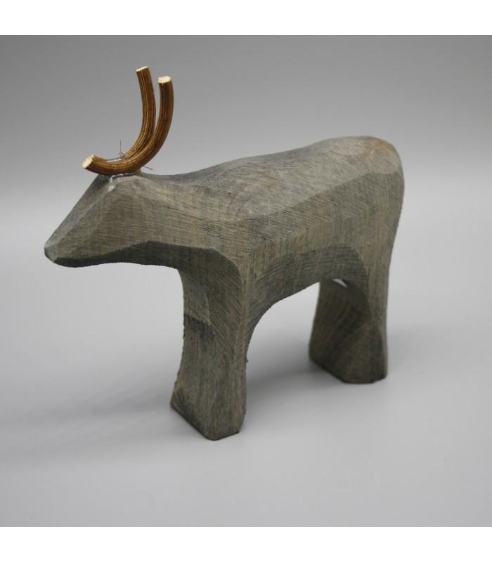 christmas reindeer minamilist handmade christmas decorations