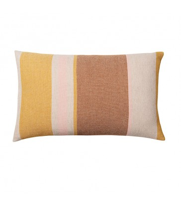Sezim Nutty Yellow Stripe Cushion