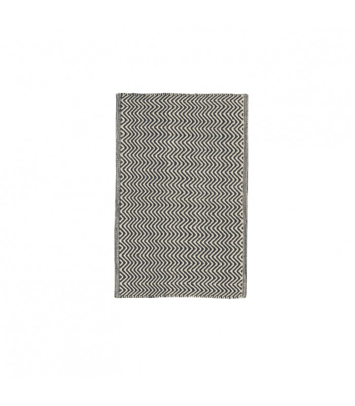 navy herringbone chhatwell PET floor rug small door mat