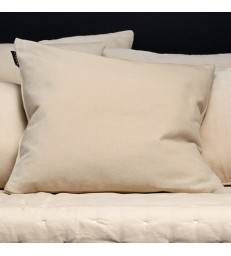 Pale Cream Velvet Cushion