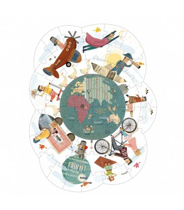 Around My Planet Jigsaw Puzzle