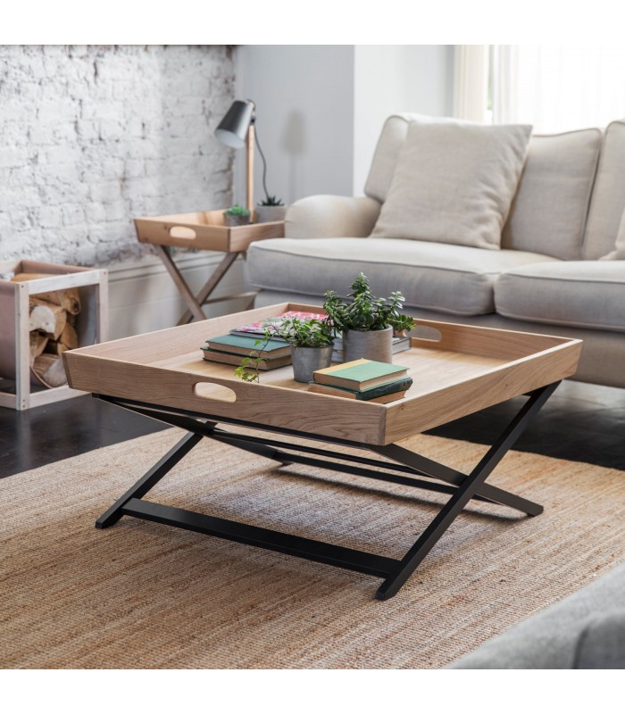Coffee Table with legs that fold away