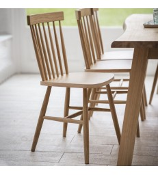 Oak Spindle Back Dining Chair