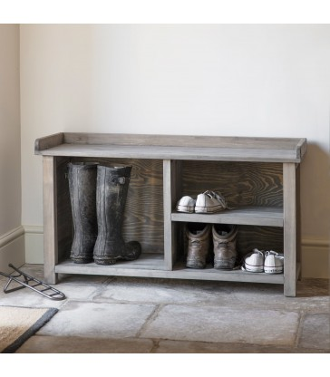 Welly and Shoe Storage Bench