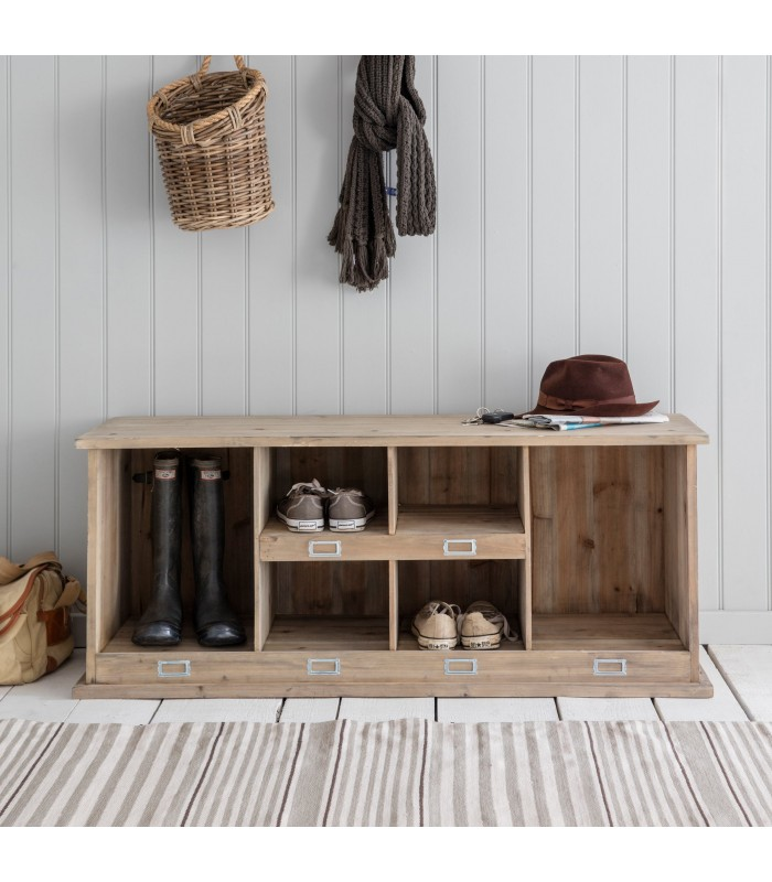 Boot and Shoe Storage Locker in Spruce