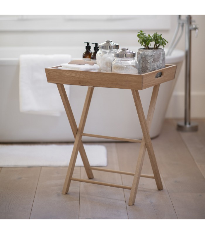 Butlers Tray Table - Oak