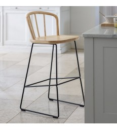 Modern Bar Stool with Back