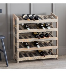 Wine Rack - Stores 35 Bottles