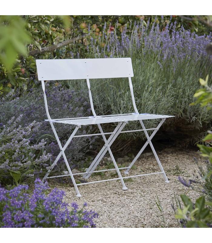 Garden Bench in Chalk - Foldable