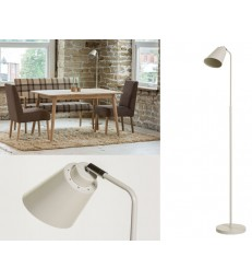 Adjustable Floor Lamp - Soft White or Grey